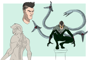 Doc Ock by cspencey