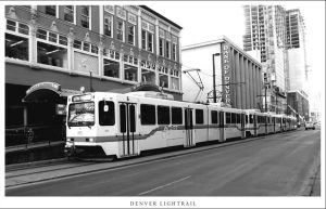 Denver Light Rail by mycro12
