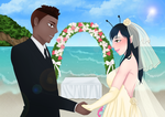 Commission: Honeycomb Beach Wedding by R-Legend