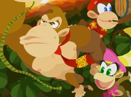 The Kong Krew by HoppyBadBunny