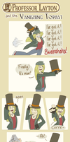 Comic: The Vanishing TopHat by BecSparrow