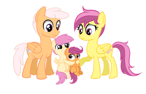 Scootaloo's Family by TheCheeseburger