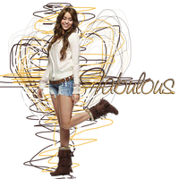 Fabulous Miley cyrus PNG by LarahLoveyou