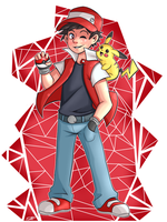Pokemon Trainer Red by TCullenDA