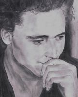 Tom Hiddleston - pencil by wincestsister