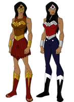 Wonder Woman Designs by jsenior
