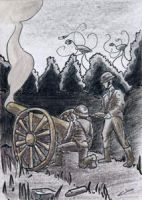 War of the Worlds Sketch Card (13) by GeekyWhiteGuy