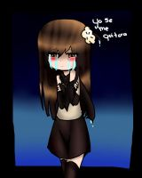 moka cry :C by Invaderdaniela