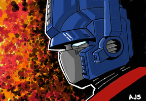 Optimus Prime 04 by AJSabino