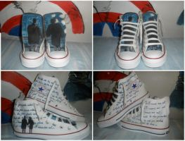 Customized Converse All Star by Menco