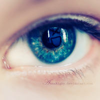 Smile with your eyes. by Annarigby