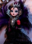 SDCC Raven Queen doll repaint by lulemee