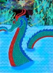 Dragon of the Crystal Loch by Neptunes-Sparks