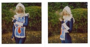 Sheik cosplay WIP by fae-photography
