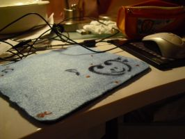 Homemade Mousepad by MsPastel