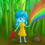 Waterdrop Girl by NellyPixit