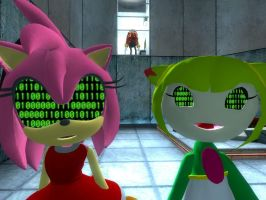 Binary Brainwashing: Amy And Cosmo by VG-MC