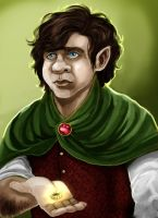 Bilbo Baggins by julitka