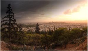 Athens Panorama by Kirlian667