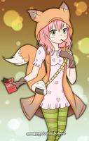 Pocky Fox by FeebyNeko