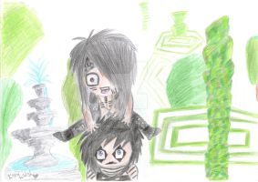 Ashley and Jinxx playing Leapfrog? [Request!] by KyraWalsh