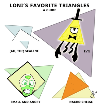 Loni's Favorite Triangles by Disdainful-Loni