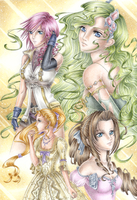 Ladies of Final Fantasy by Rooro22