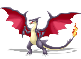 .:Mega Shiny Charizard:. by kryptangel92