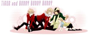 TIGER and  BUNNY BUNNY BUNNY by kurokugatte