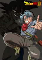 Mirai Trunks Dragonball super by bloodsplach
