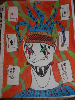 Work In Progress 7 - Circus Jester (Finished) by KnightMoor