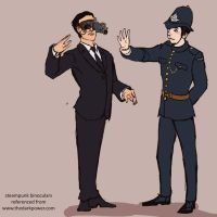 Drawble: Murdoch Mysteries by lorainesammy