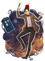 Doctor Who - here he comes again by PetitPotato