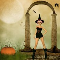 ::Witchy Woman:: by JunkbyJen