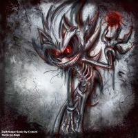 Dark Fleetway Super Sonic by Comickpro