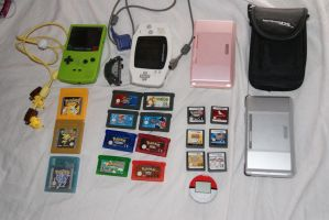 Nintendo-Handheld Collection by Lillgoban