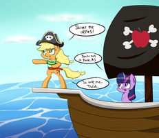 Pirate Jack! by NotEnoughApples