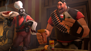 SFM Poster : Dinner Time ! by Olderika