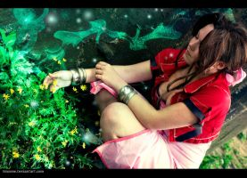 Aerith - Lifestream by Emzone