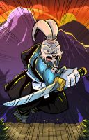 Usagi Yojimbo by geogant