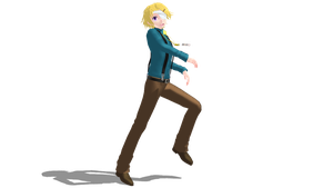 [MMD] Yoosung Kim (Party) by MelissaChao
