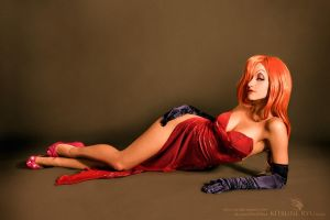 Jessica Rabbit ultimate cosplay by UltimateCosplays