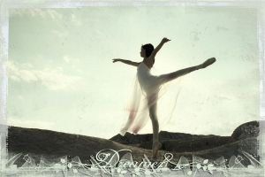 Ballerina in Badlands 1 by Sonifo