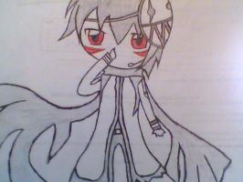 Drawing of Kageito by Kaito-x-Shion