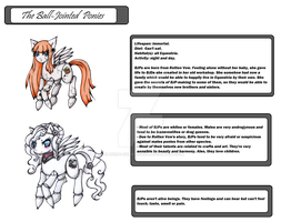 Closed Species: The Ball Jointed Ponies. by Calavera-Garbancera