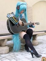 Hatsune Miku by BloodyMeg