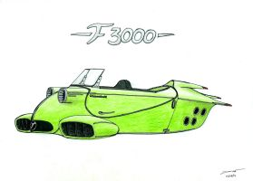 1164 04-09 Messerschmitt F3000 by TwistedMethodDan