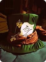 Mad Hatter's Hat WIP by Me-O-Tojite