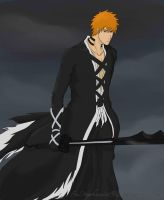 Ichigo's new Bankai! by fnstephanie