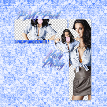 Katy Perry PNG Pack by conceitedgirls